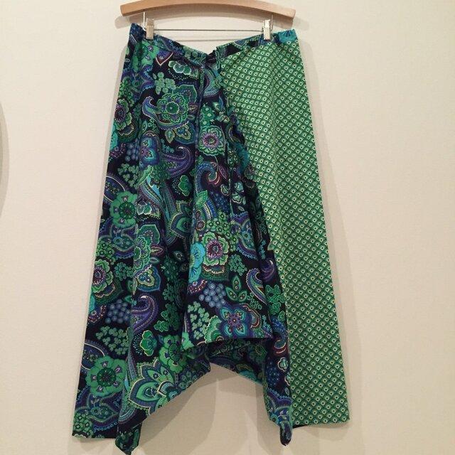 paisley & green さんかくパンツの画像1枚目