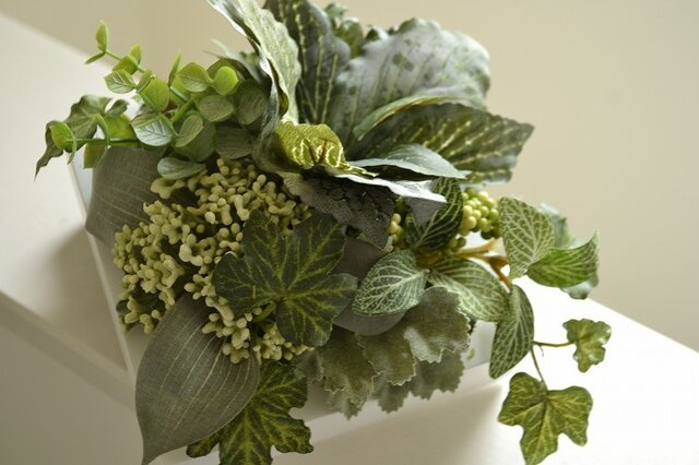 Interior Art flower&green S/Gの画像1枚目