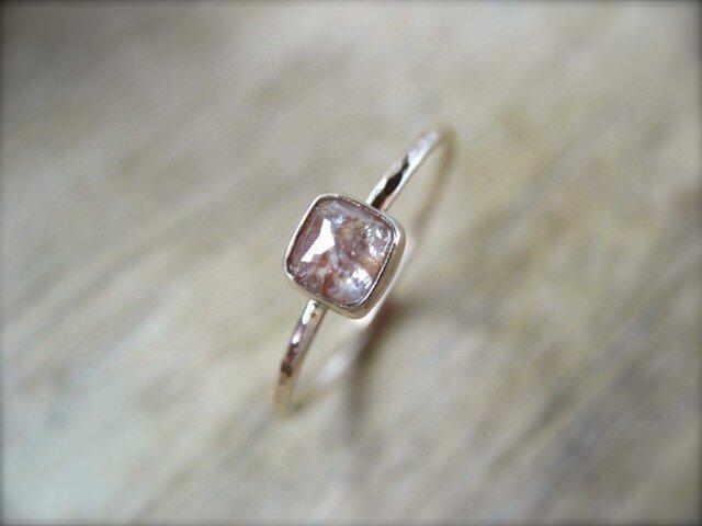 Pink Diamond Ringの画像1枚目