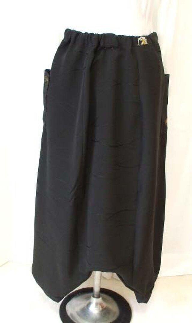 絹羽織2種からはんなりすべすべサルエルパンツの画像1枚目