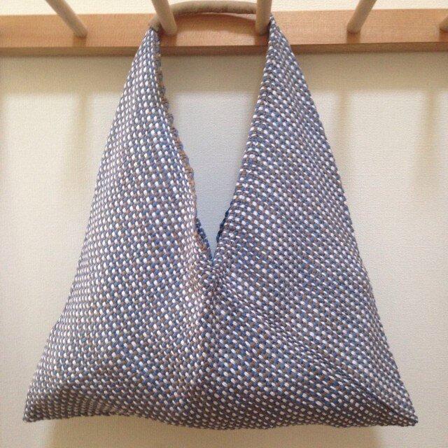 手織り あずま袋の画像1枚目