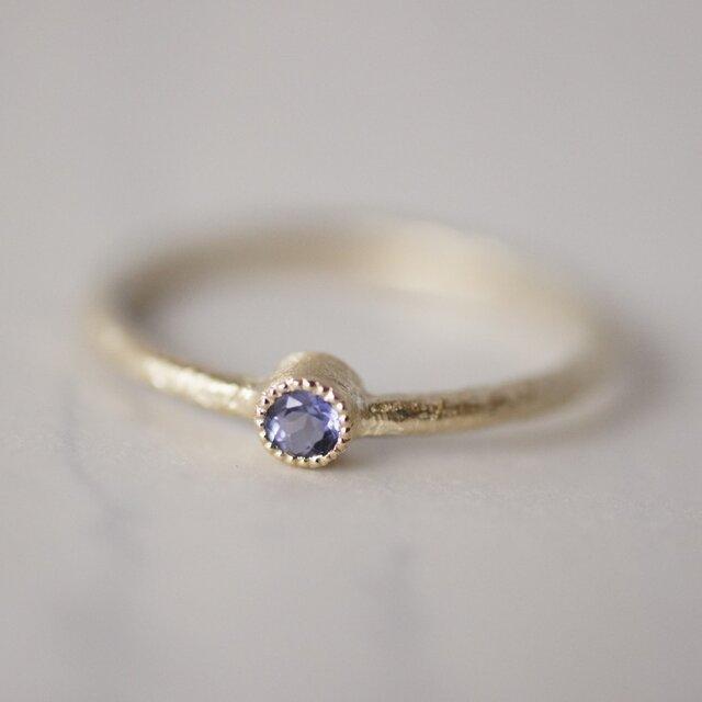 Tanzanite one stone ring{R050K10TZ}の画像1枚目