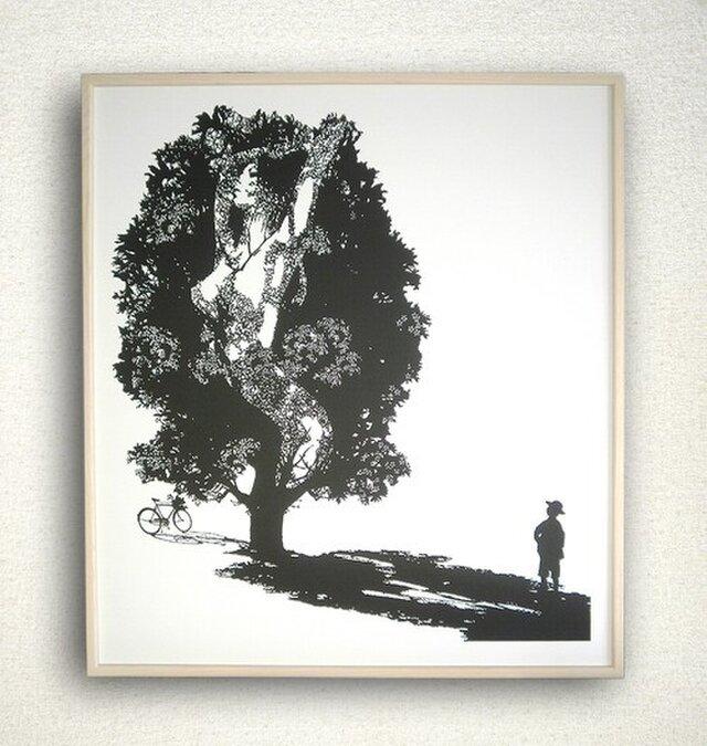 worried tree/気になる樹の画像1枚目