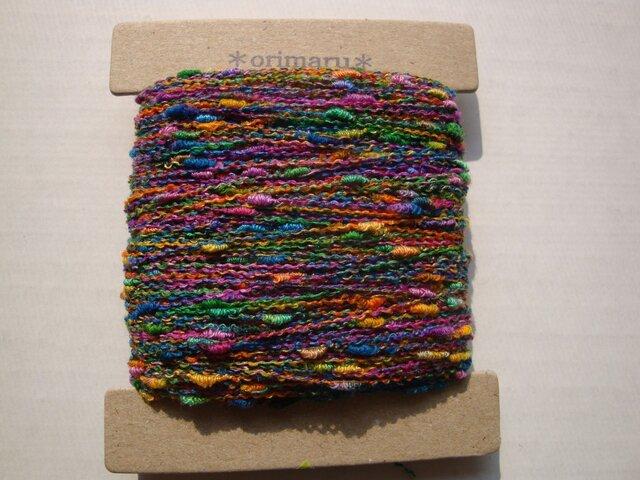 つぶつぶ虹色糸の画像1枚目
