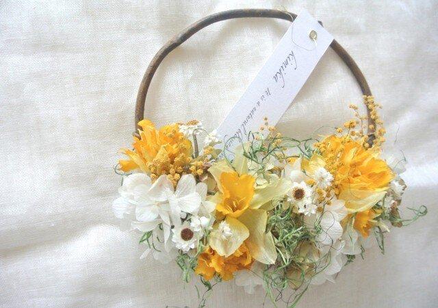 hanging basket wreath.naの画像1枚目
