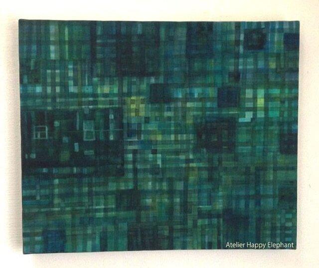 深緑の格子【F8】の画像1枚目