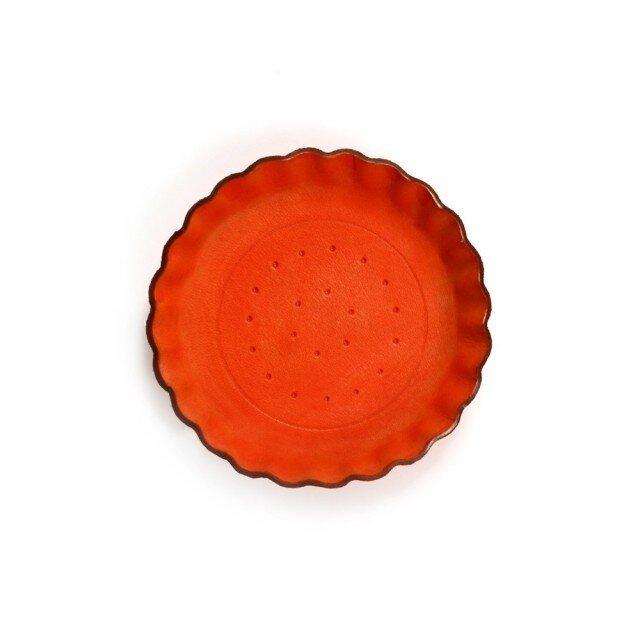 Orange ビスケット ) アクセサリー 小物 本革 トレイの画像1枚目