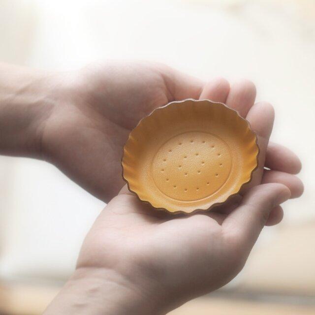 Mustard ビスケット ) アクセサリー 小物 本革 トレイの画像1枚目