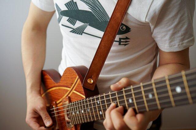 ギターストラップ30 名入れ【刻印】の画像1枚目