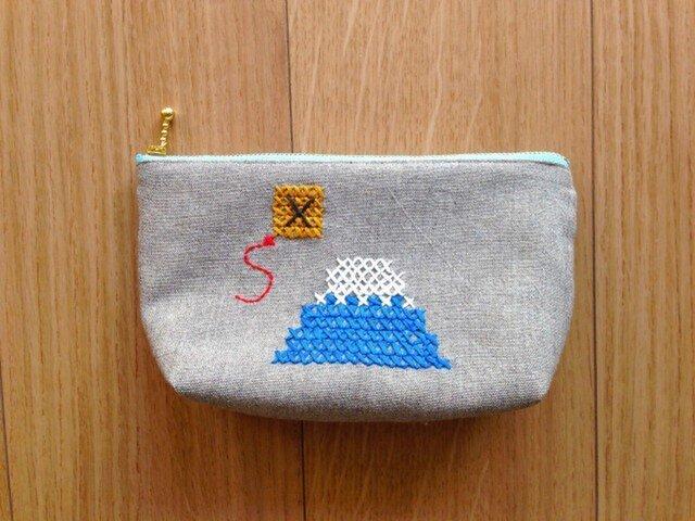 ポーチ 富士山の画像1枚目