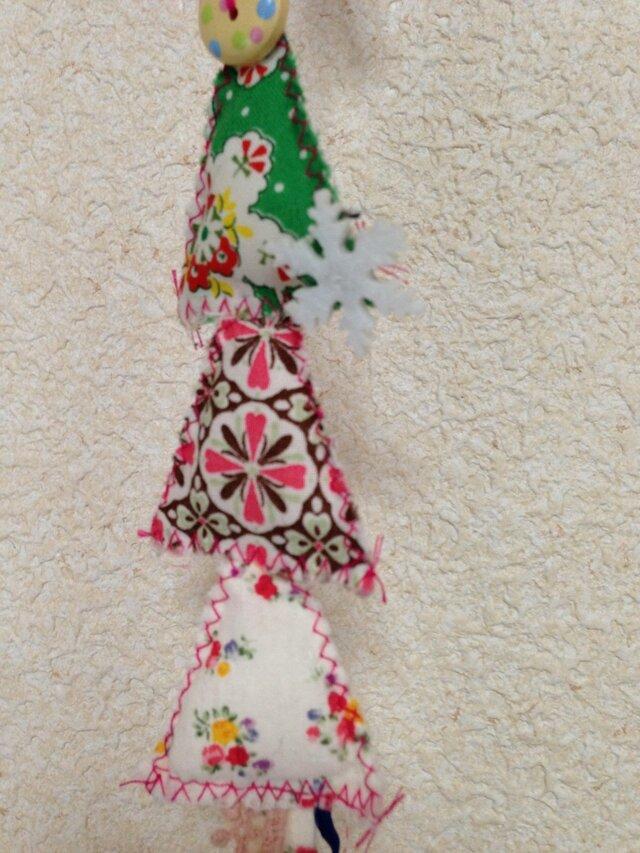 手作りキルトのクリスマスオーナメント2の画像1枚目