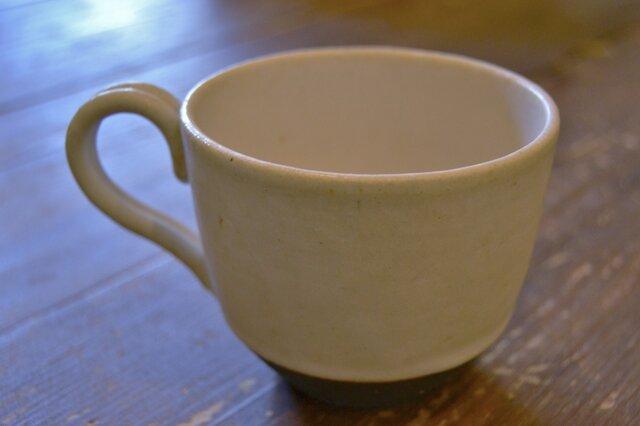 白釉コーヒーカップの画像1枚目