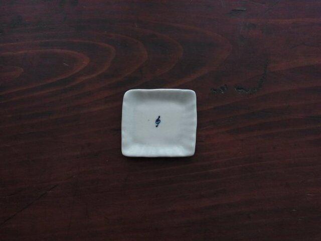 豆豆皿 磁器トーン記号の画像1枚目
