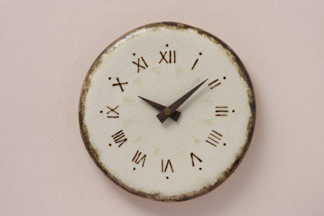 Ⅻ 227(陶製掛時計)の画像1枚目