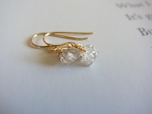 herkimer diamond piercedの画像1枚目