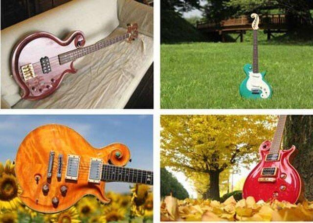 2013年ギター写真カレンダーの画像1枚目