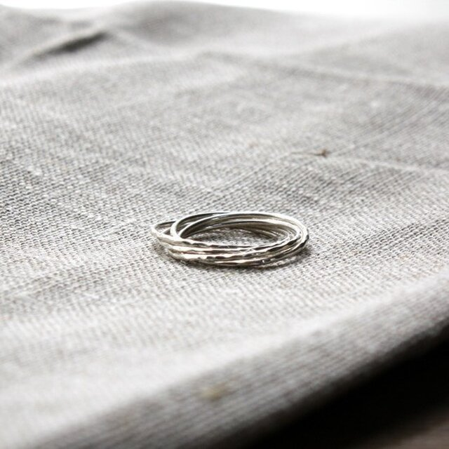 連五連指輪 rr-08の画像1枚目