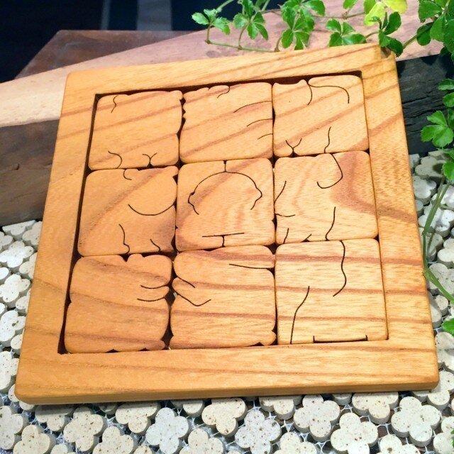 START:木のどうぶつパズルの画像1枚目