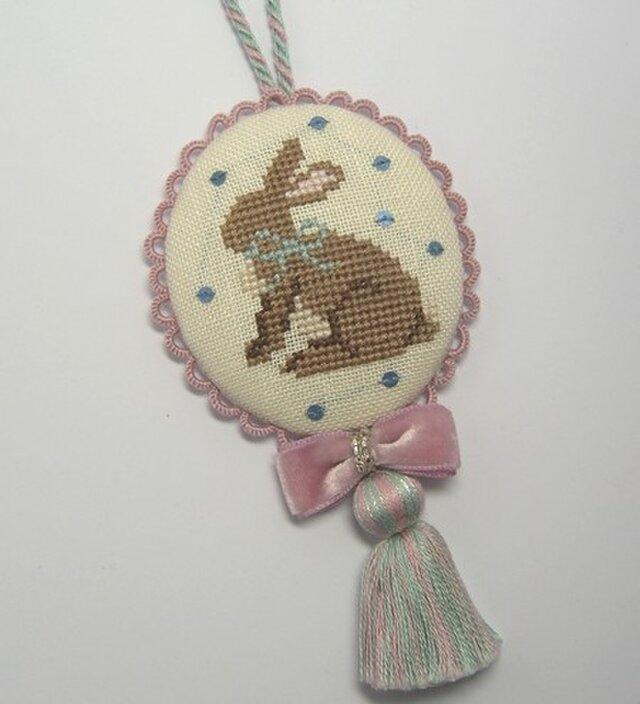 タッセルオーナメント ウサギの画像1枚目