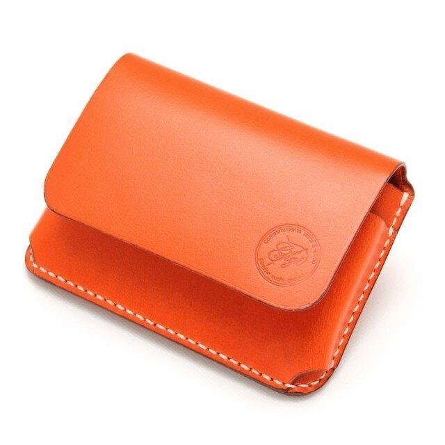 【受注生産】カードケース(名刺入れ) オレンジの画像1枚目