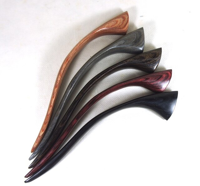 かんざし 積層強化木軸5色から、お風呂OKの画像1枚目