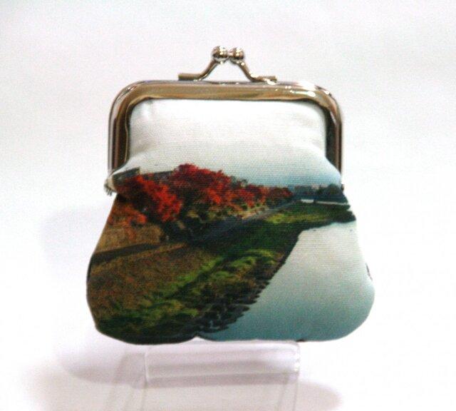 京都がま口01<紅葉の季節>の画像1枚目