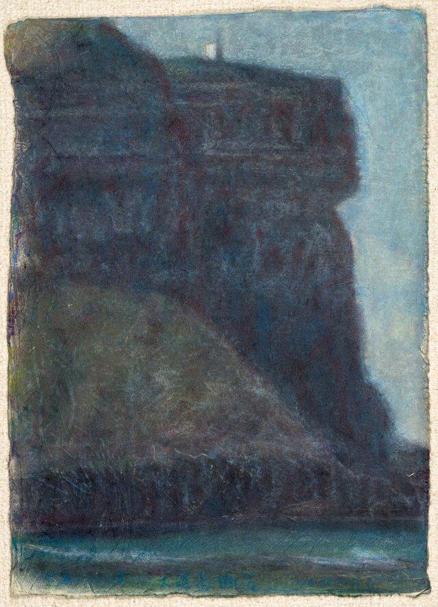 オイルクレヨン原画-140の画像1枚目