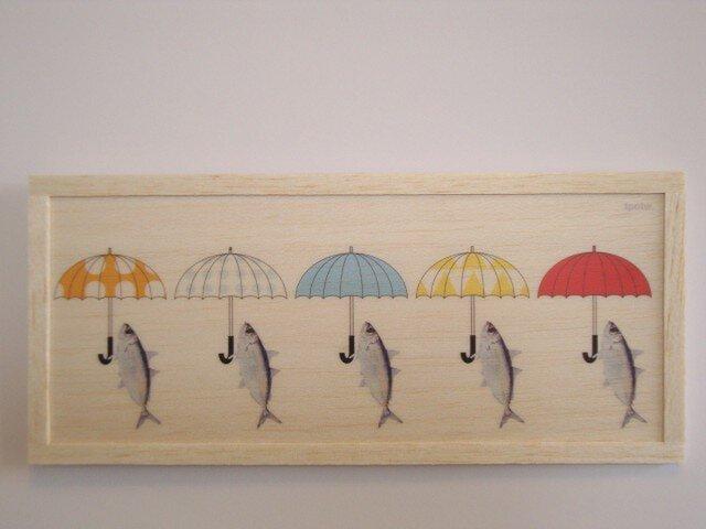 Fish and umbrellaの画像1枚目