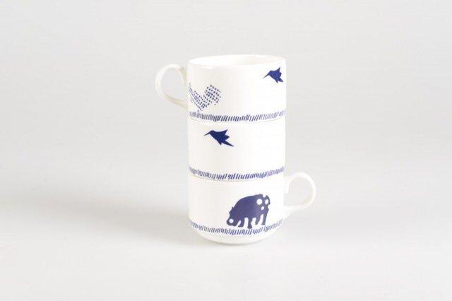 Hippo,Bird,Squirrel Cupかばとりりすカップの画像1枚目