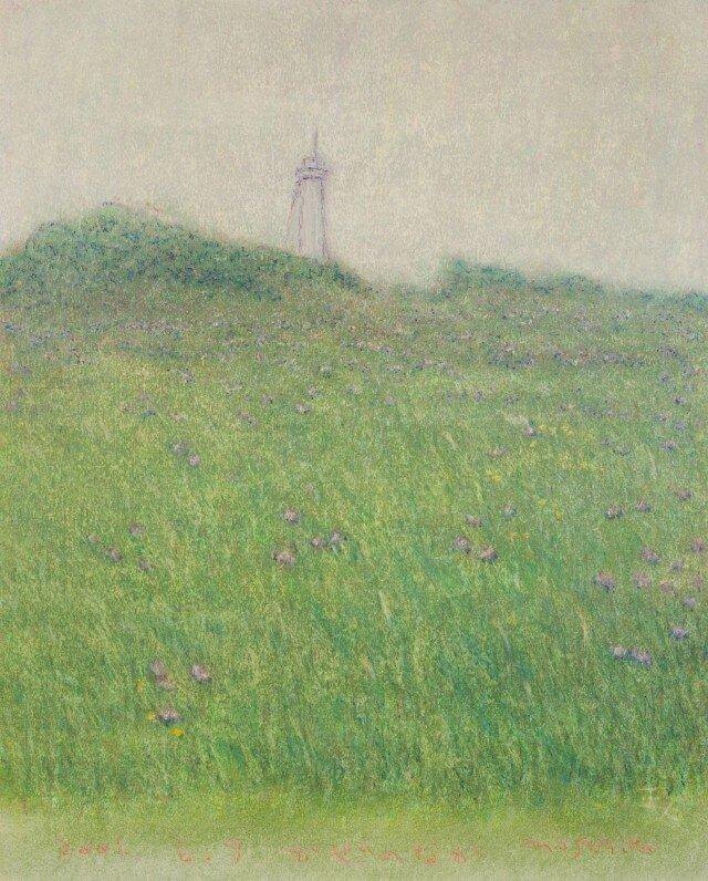 オイルクレヨン原画-743の画像1枚目