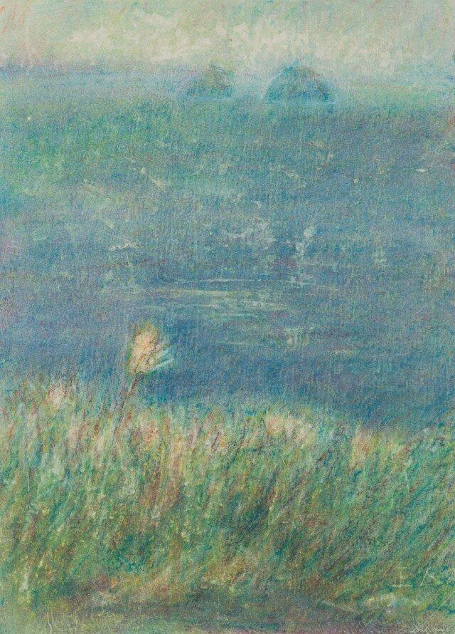 オイルクレヨン原画-763の画像1枚目
