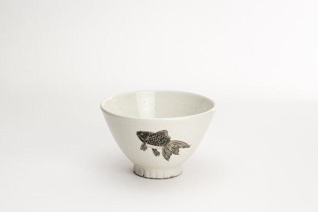 粉引茶碗(きんぎょ)の画像1枚目