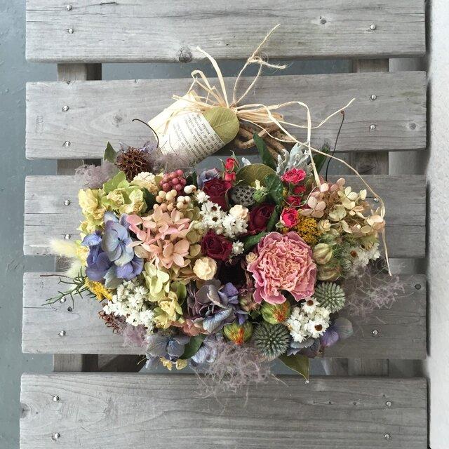 ハーブと芍薬と紫陽花の画像1枚目