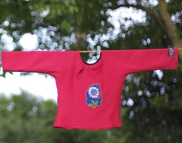 T-shirt Panda Pétalの画像1枚目