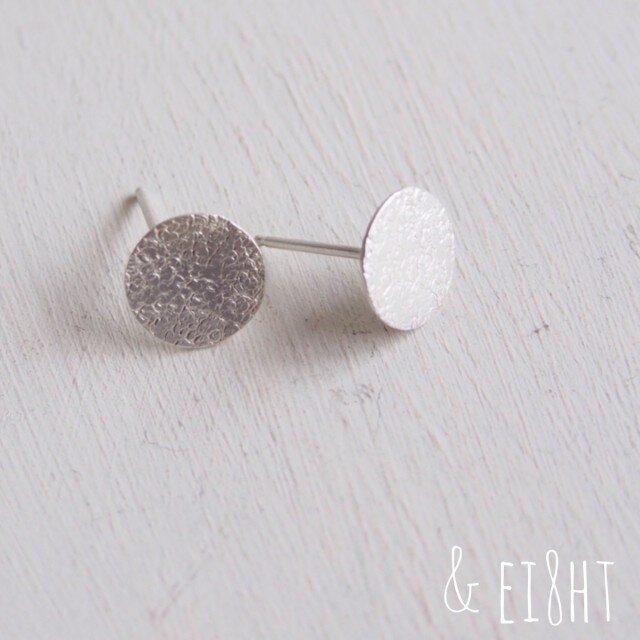 【再販】- Silver - Silver Moon ピアスの画像1枚目