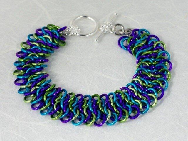 AA Strangemaille Bracelet PAGの画像1枚目