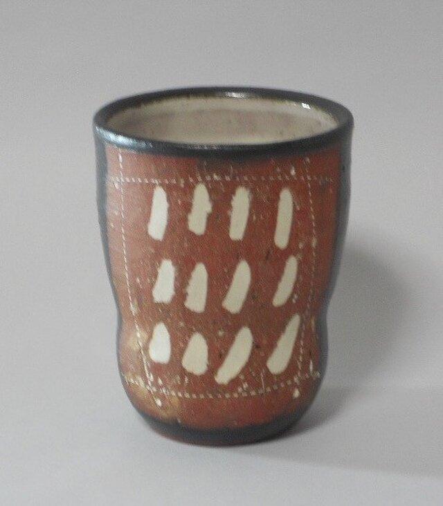 象嵌てんてんカップ (1)の画像1枚目