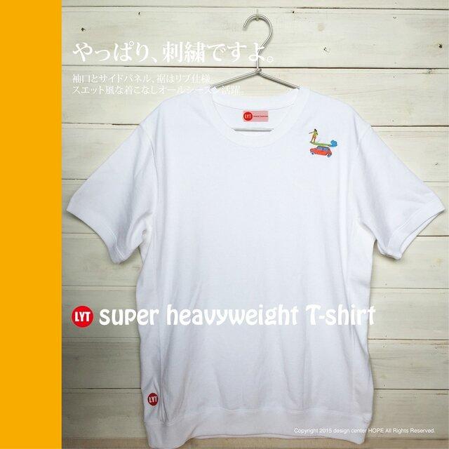 SURF 刺繍 ヘビーウェイト Tシャツの画像1枚目