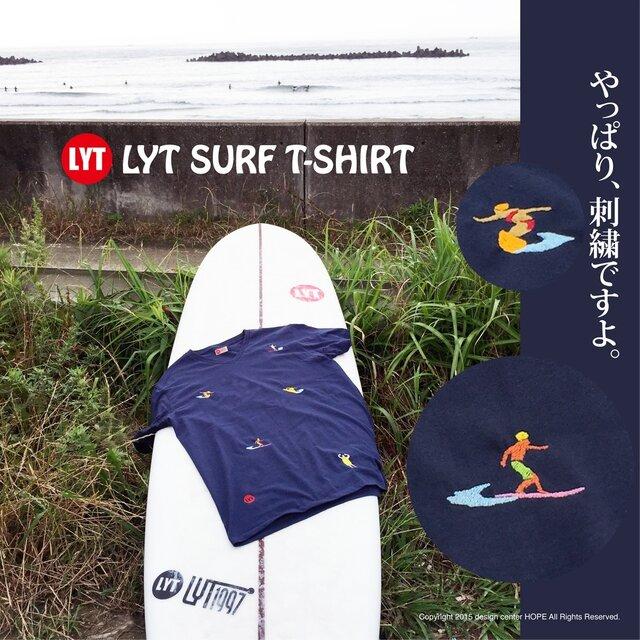 SURF 5 刺繍 V Tシャツの画像1枚目