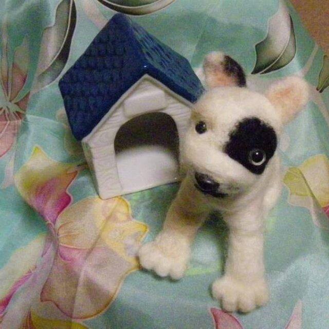 羊毛フェルト☆フレンチブルドックの画像1枚目