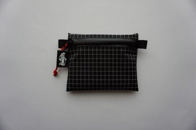 flat pouch S Dyneema X Blackの画像1枚目
