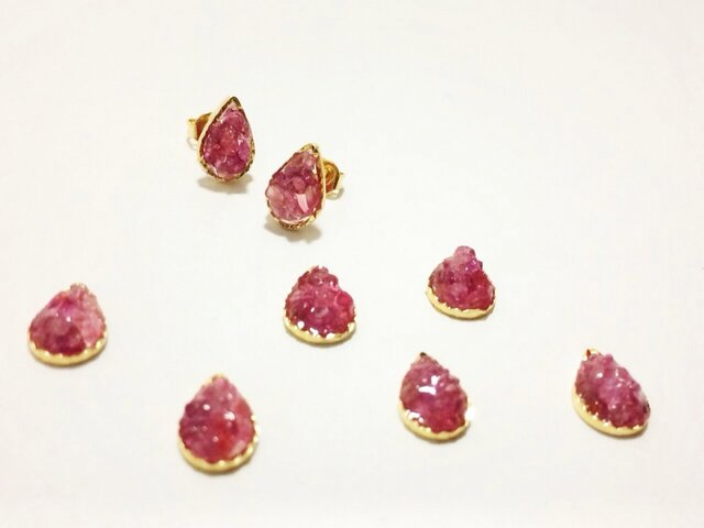 last1【pebble series】Drop S•rubyの画像1枚目