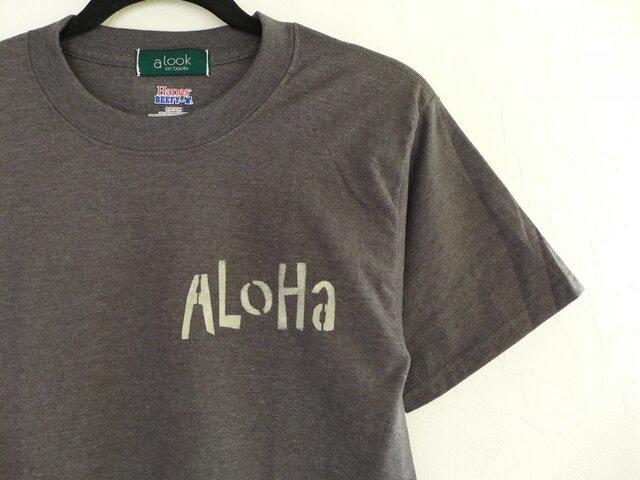 Hanesbeefy alookonbooks alohaTeeの画像1枚目