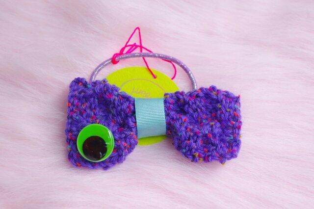 mr Bow knit (pony tail)の画像1枚目