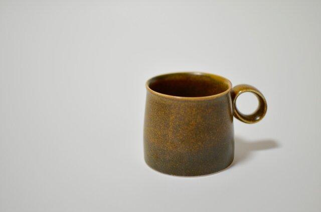 コーヒーカップ 茶の画像1枚目