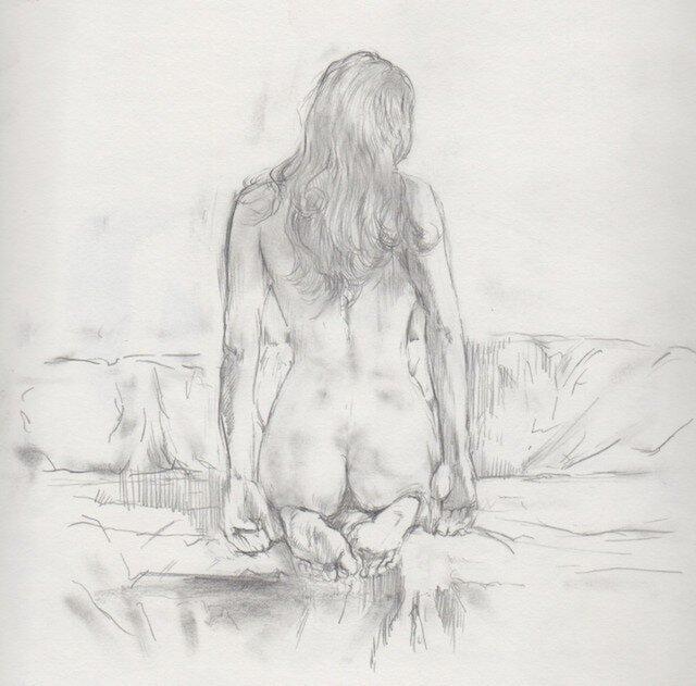 Erotic Art Nude #2 by Katsu Aokiの画像1枚目
