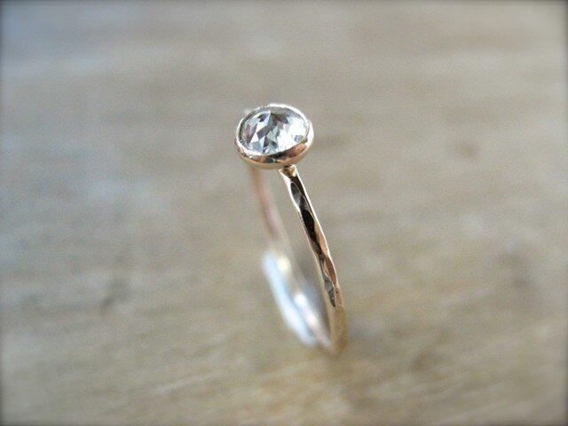 White Diamond Ringの画像1枚目