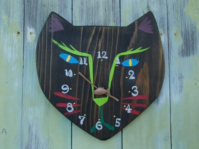 strange cat (black)の画像1枚目