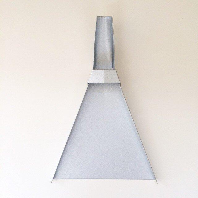 sankaku dastpan silver 三角チリトリの画像1枚目