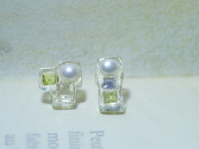 Frozen gemstone(グリーン系)の画像1枚目